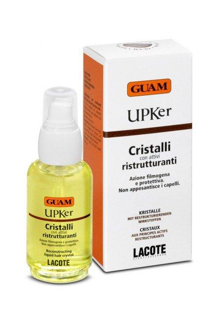 Масло для восстановления структуры волос guam upker